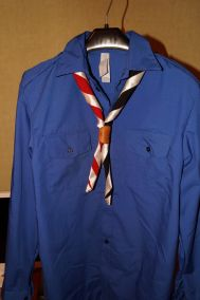 Рубашка скаута  (в наличии)